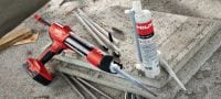 Hilti HIT-RE 10 Economical epoxy mortar for concrete Applications 4