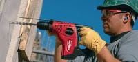 TE 7-C Powerful D-grip, triple-mode SDS Plus (TE-C) rotary hammer with chipping function Applications 1