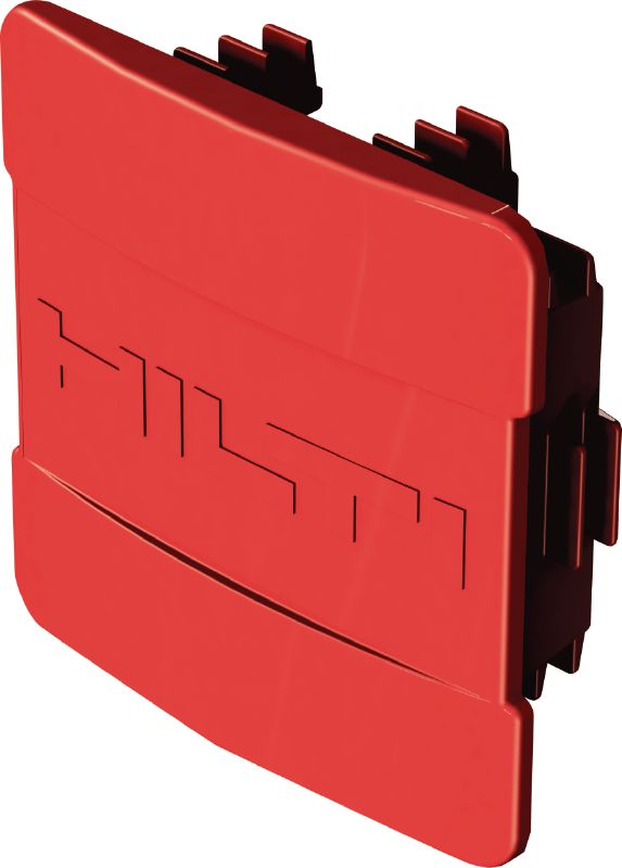 MQZ-E Channel end cap for covering the ends of Hilti MQ strut channels
