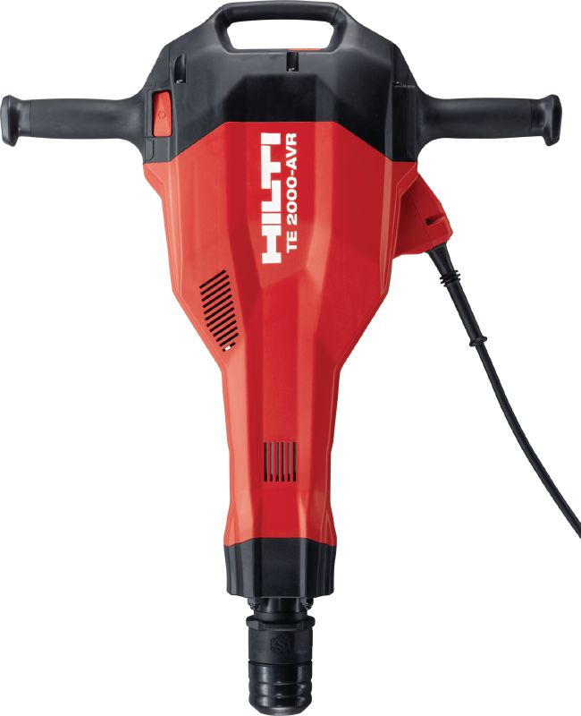 TE 2000-AVR Powerful and extremely light TE-S demolition hammer for concrete floor breaking