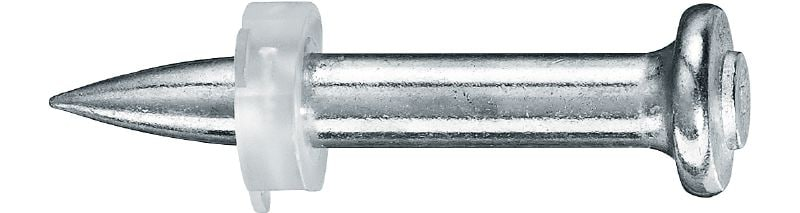 X-P P8 High-performance single nail for use with powder-actuated tools on concrete and other materials