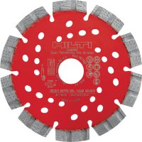 SPX-SL Universal Ultimate diamond blade with Equidist technology for slitting in different base materials