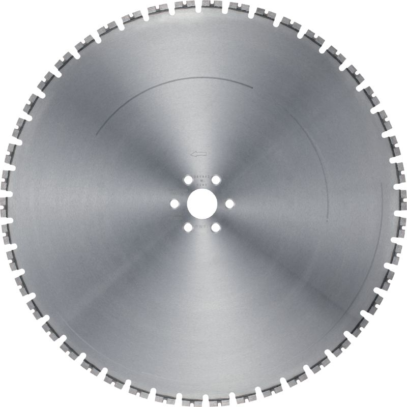 LCS Equidist-60H/Hilti Ultimate wall saw blade (5-10 kW) for high speed and a longer lifetime in reinforced concrete (60H arbor)