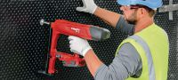 BX 3 02 22V cordless nailer for interior finishing applications Applications 5