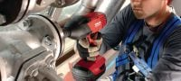 SIW 22T-A 1/2 Ultimate-class 22V high-torque impact wrench with 1/2 detent pin anvil for anchoring and bolting Applications 2